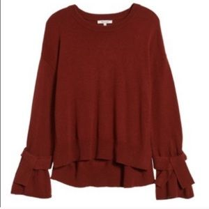 Madewell Sweaters - Madewell Tie Cuff Sweater